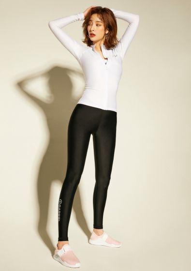 BARREL Women's Venice Water Leggings V2  Black/White