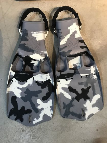 Scubapro Jet Fin Grey Camo Limited Edition