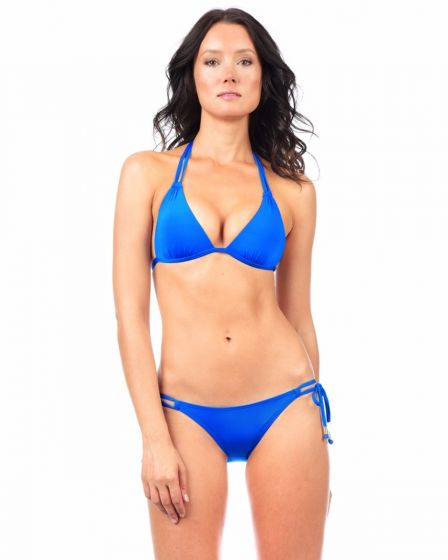 5a5baec3ca0 VODA SWIM - Royal Envy Push Up ® Double String Bikini Top