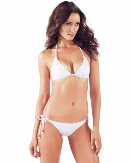 0836e9baf47 VODA SWIM - White Envy Push Up ® String Bikini Top