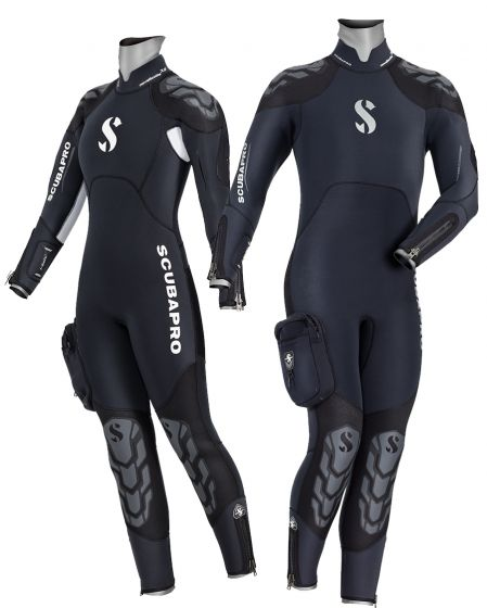 SCUBAPRO WETSUIT NOVA SCOTIA 7.5/6.5 MM SEMI-DRY WITH HOOD