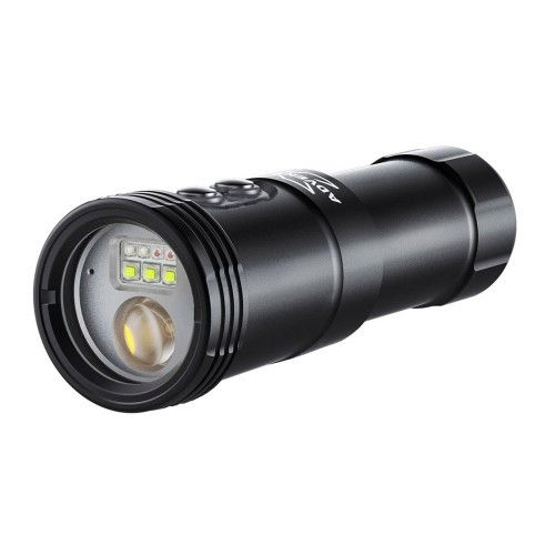 X-ADVENTURER M2500-WSRBA 4in1 Smart Focus Video Light (Wide light + Snoot Light + Red light + Blue light with Auto Flash-Off Fun