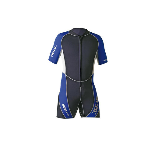 SEAC SUB SEALIGHT 2.5MM SHORTY WET SUITS, MAN