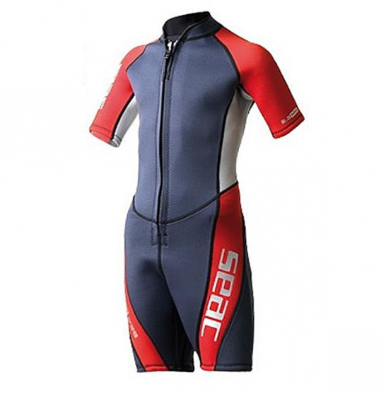 SEAC SUB SEALIGHT 2.5MM SHORTY WET SUITS, KIDS
