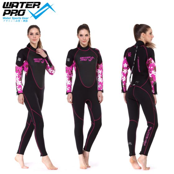 Water Pro 3mm Full Suit/SAKURA