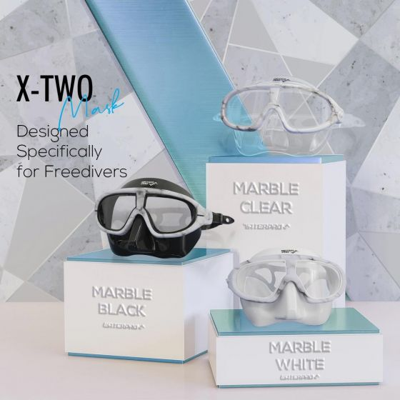 Water Pro X-TWO Free Dive Mask