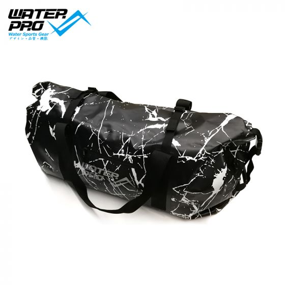 WaterPro PVC Dry Bag 80L MARBLE BLACK