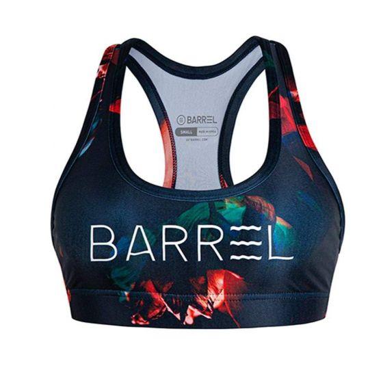 Barrel Womens Big Logo Pattern Bra Top-ORE
