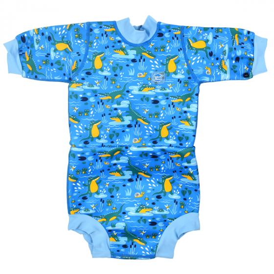 Splash About Happy Nappy Wetsuit - Crocodile Swamp