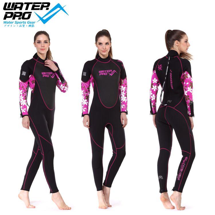 Bộ đồ lặn biển kín thân WATER PRO 3MM FULL SUIT/Sakura