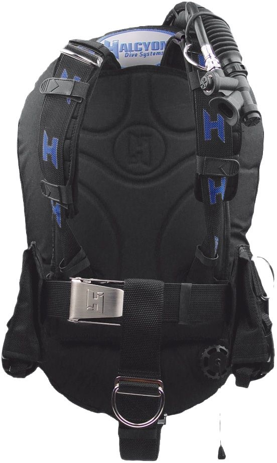 Halcyon infinity 30 lb 40 lb bc system w ss backplate wo - Halcyon dive gear ...