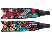 LEADERFINS LIMITED EDITION WATER LIFE BI-FINS-BLK