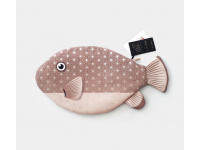 PAAPAOW Pufferfish pouch (PET bottles waste recycled fabric)