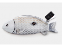 PAAPAOW Russell's Snapper fish pouch (PET bottles waste recycled fabric)