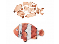 PAAPAOW False Clown Anemonefish pouch (PET bottles waste recycled fabric)