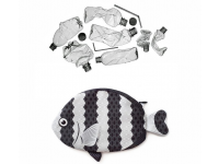 PAAPAOW Humbug Dascyllus fish pouch (PET bottles waste recycled fabric)