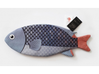 PAAPAOW Blue Devil Damsel fish pouch (PET bottles waste recycled fabric)