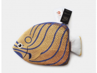 PAAPAOW Blue-ringed Angelfish pouch (PET bottles waste recycled fabric)