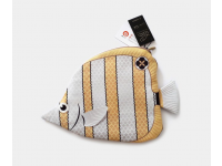 PAAPAOW Beak Butterflyfish pouch (PET bottles waste recycled fabric)