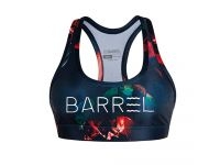 Barrel Womens Big Logo Pattern Bra Top-ORE