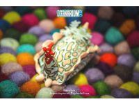 Oceanarium  M04 Psychedelic Batwing Slug magnet