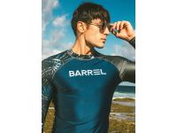 BARREL Men's Odd Rashgurad  Navy/Navy Jungle/Dark Grey