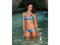 VODA SWIM Moorea Envy Push Up ® Double String Bikini Top