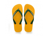 HAVAIANAS BRASIL LOGO FLIP FLOP 4110850 UNISEX - Banana Yellow
