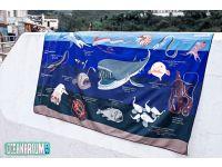 Oceanarium T07 DEEPSEA MARINELIFE DRY TOWEL 80CM X 140CM