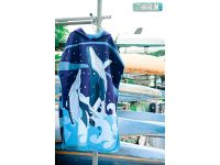 OCEANARIUM T16 WHALE CLOAK TOWEL (FREE SIZE)*105CM X 85CM*