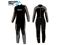 Water Pro 3mm Wetsuit, Cool Orange