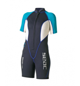 SEAC SUB SEALIGHT 2.5MM SHORTY WET SUITS, WOMAN