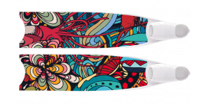 LEADERFINS LIMITED EDITION WATER LIFE BI-FINS-WHI