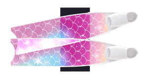 LEADERFINS LIMITED EDITION MERMAID SEMI-TRANSPARENT BI-FINS