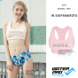 BARREL Big Logo Bra-Top Rashguard